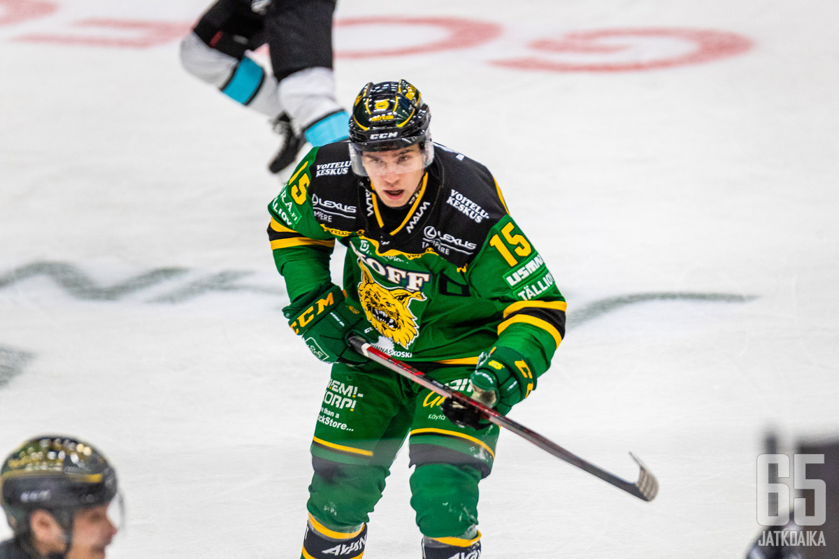 Virtanen ei ollut tyytyväinen joukkueen otteisiin.
