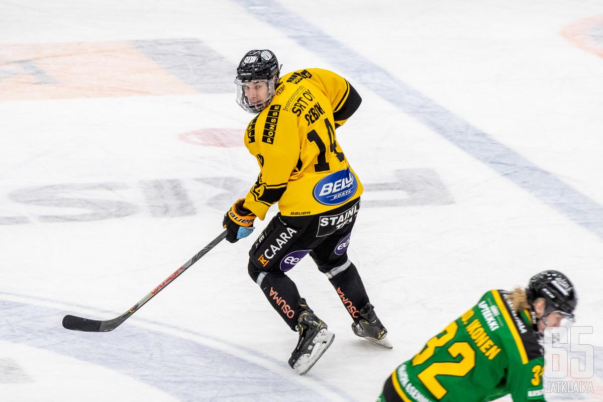 Sebők tulee Tampereelle Kuopiosta.