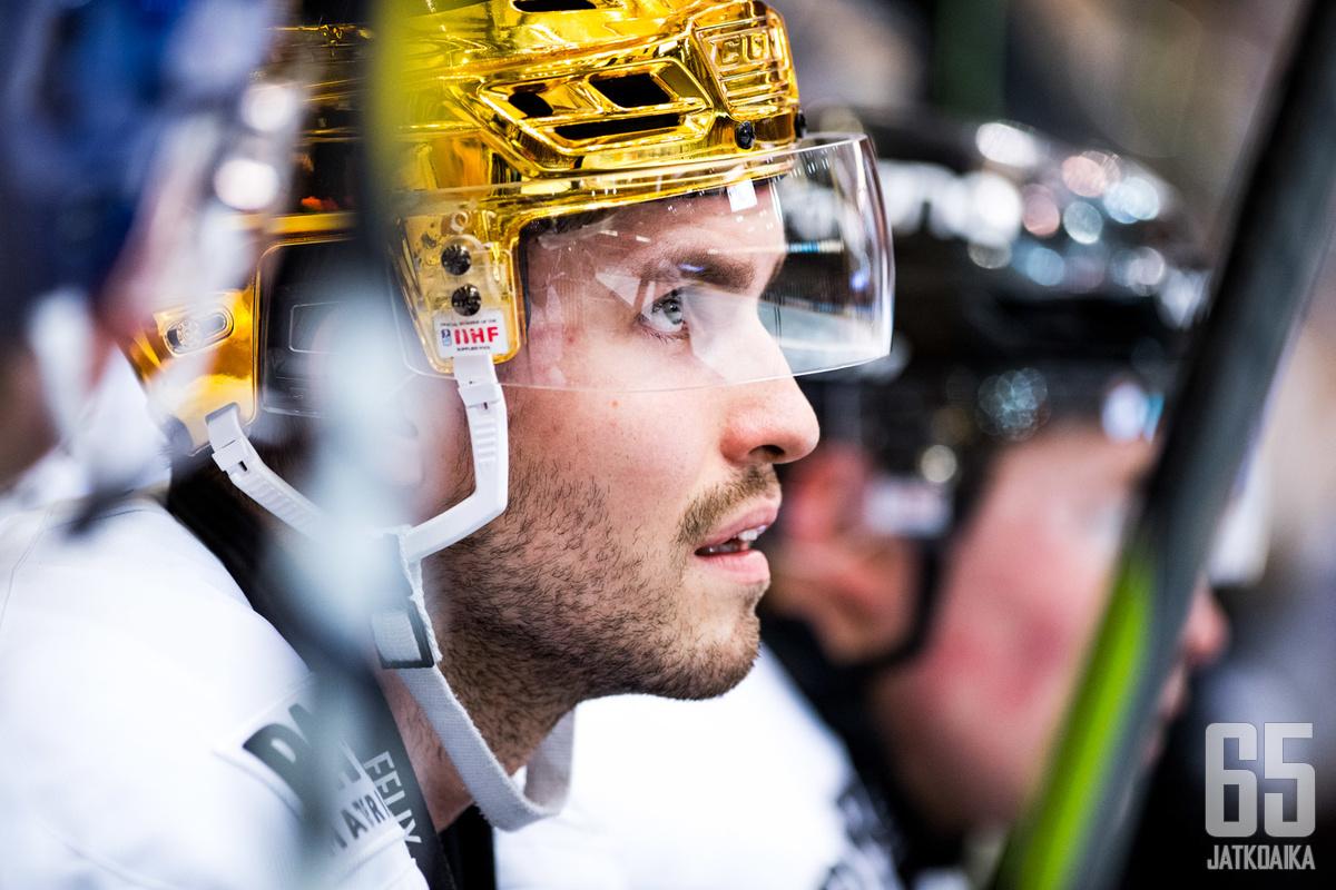 Oula Palve ei vakuuttanut AHL:ssä.