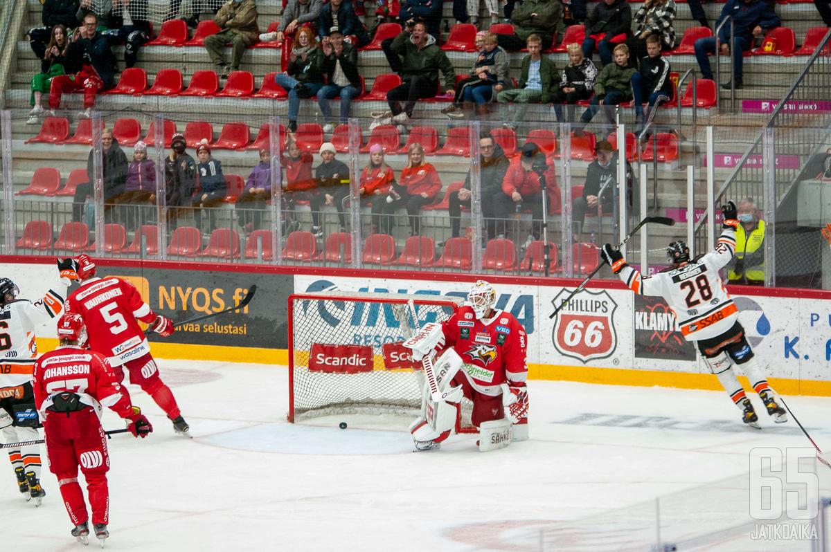 Markus Nenonen nousi illan ratkaisijaksi.