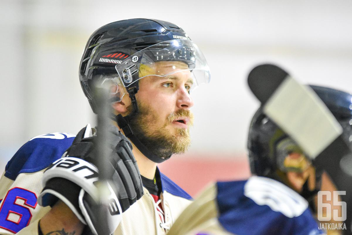 Jonne Virtanen voitti oikeustaiston TPS:n kanssa.