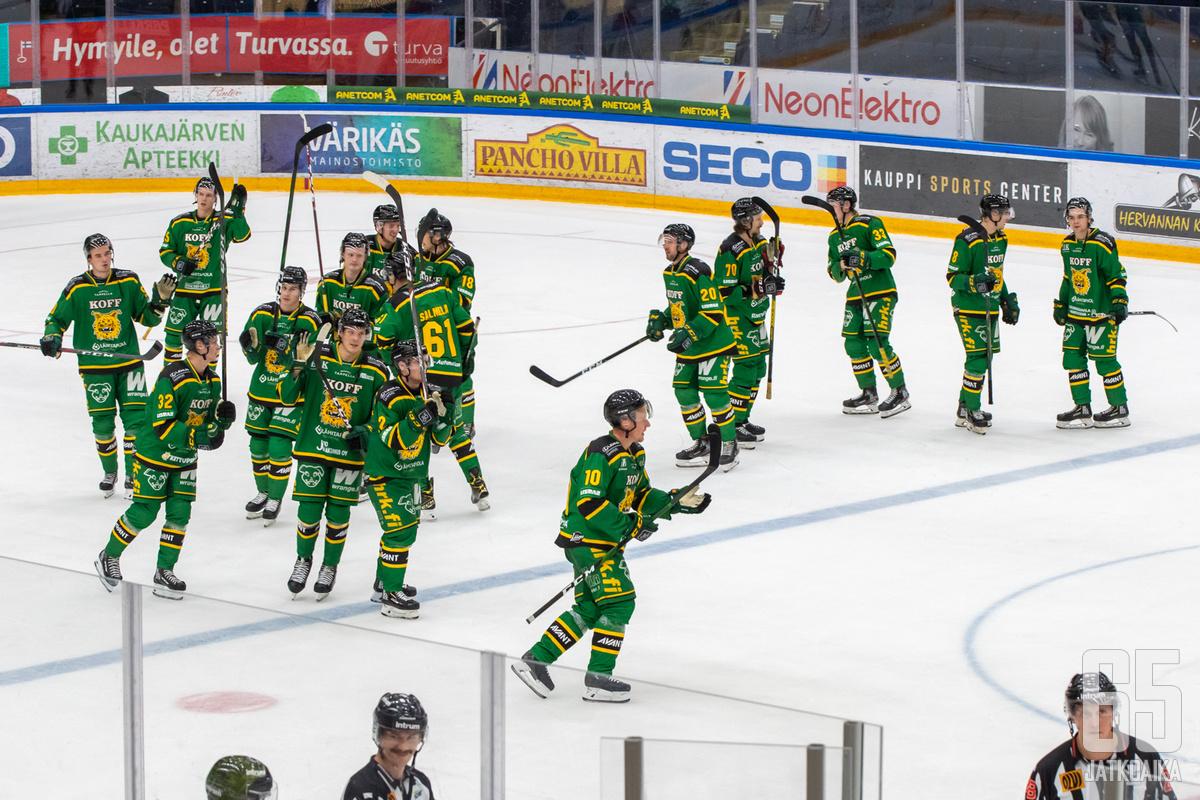 Eemeli Suomi avasi kauden maalitilinsä.
