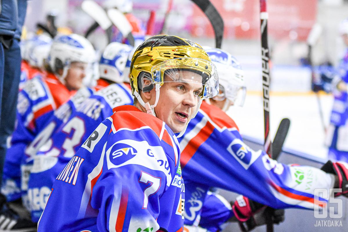 Janne Kumpulainen ihmettelee sekä joukkueen että itsensä suvantovaihetta.