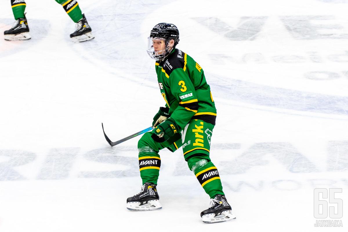 Autio pelasi pätkän myös Ilveksessä.