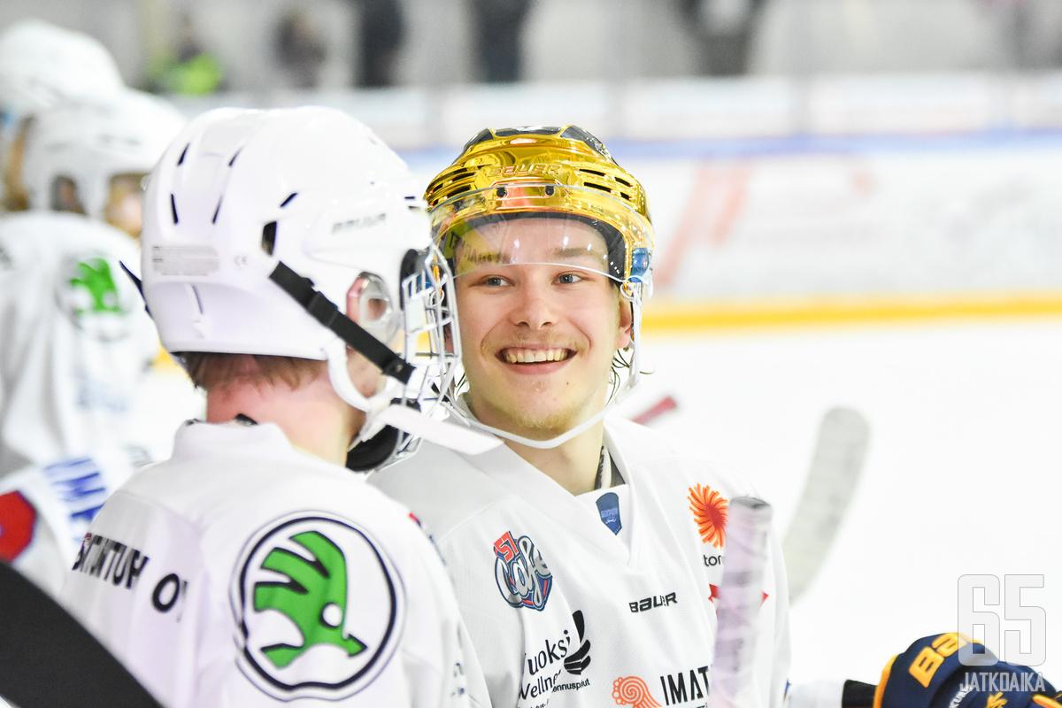 Joona Jääskeläinen iski jälleen kaksi maalia.