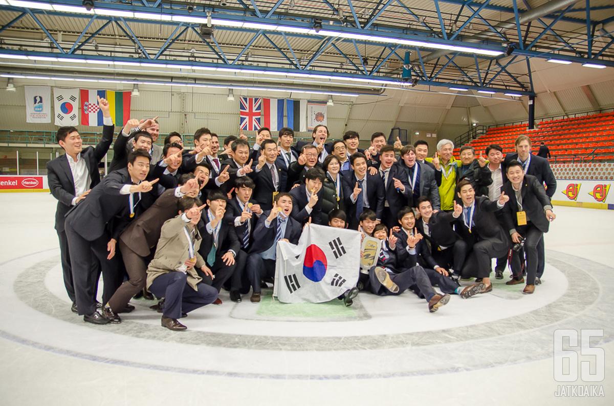 Etelä-Korea on vuoden 2018 olympialaisten isäntämaa.