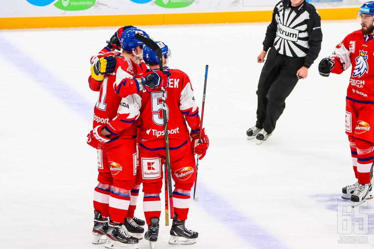 Tšekki menetti voitokkaassa turnauksessa ainoastaan yhden pisteen Ruotsille.