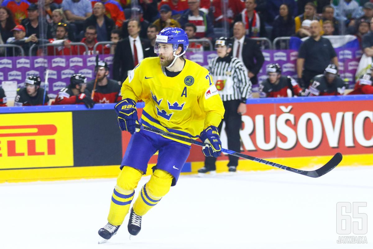 Hedman on itseoikeutetusti mukana Tre Kronorissa.