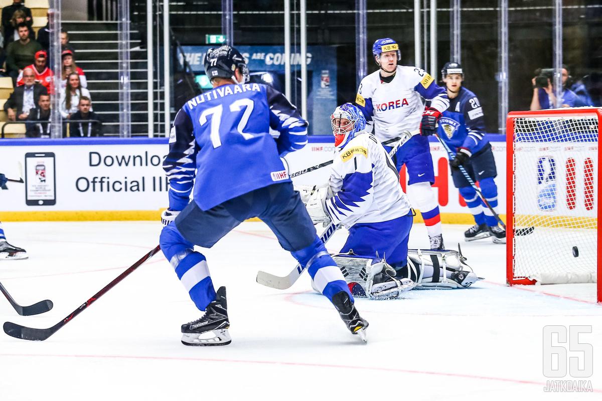 Tässä Suomi on tehnyt ottelun toisen alivoimamaalinsa.