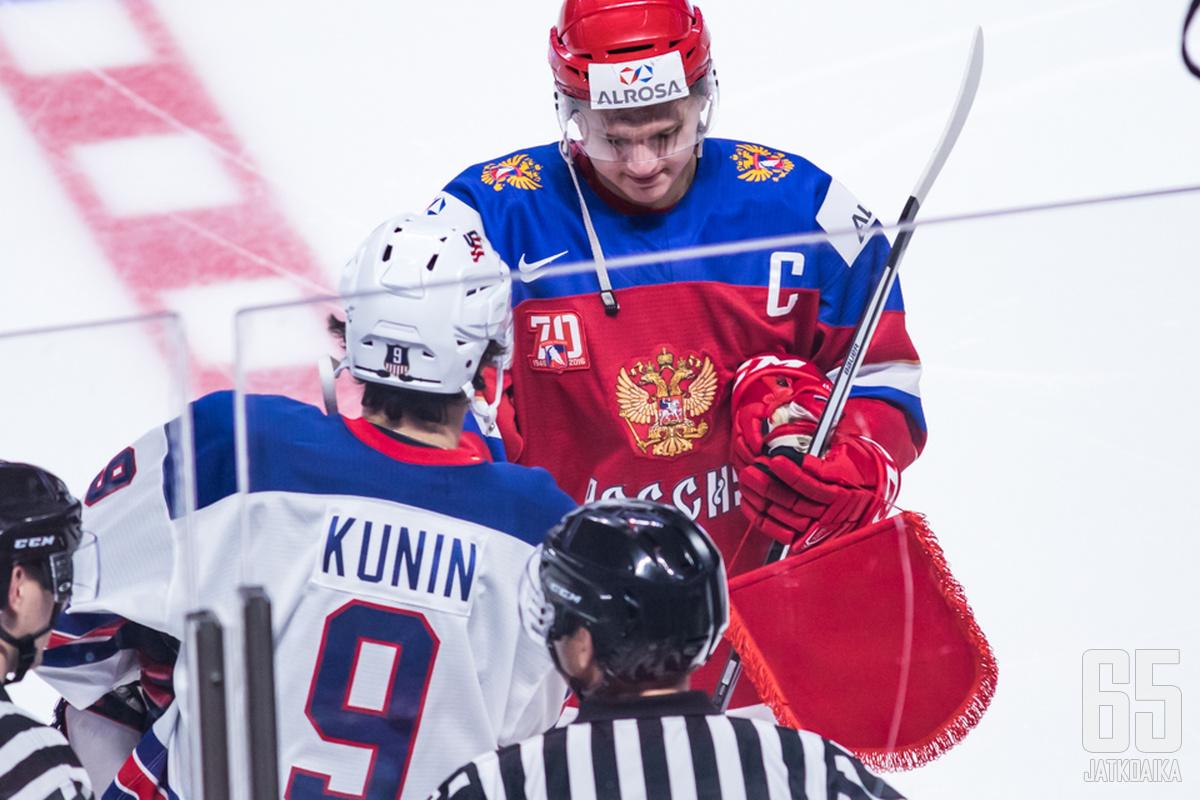 Luke Kunin ja Kirill Kaprizov kuuluvat Minnesota Wildin tulevaisuuteen.