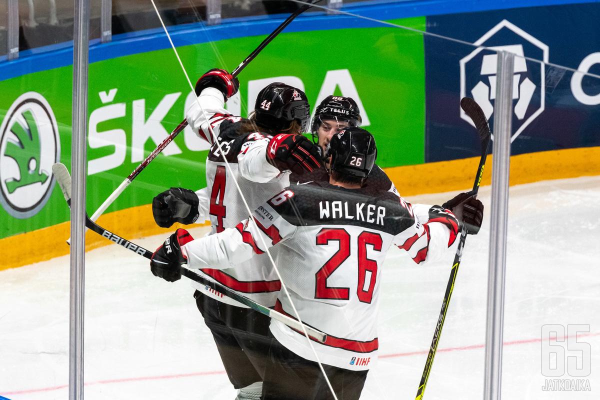 MM-kisat vuosimallia 2021 ratkesi Kanadan maailmanmestaruuteen.