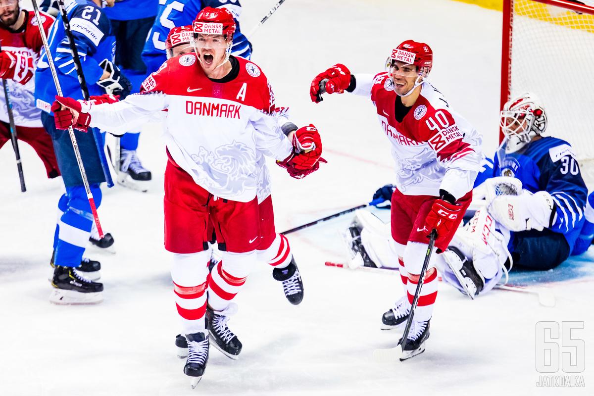 Tanska on lähellä historiansa ensimmäistä olympiapaikkaa jääkiekossa.