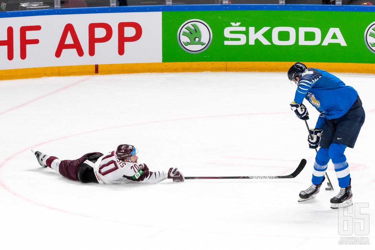 Sunnuntain Latvia-ottelu tavoitti parhaimmillaan kaksi miljoonaa suomalaista.