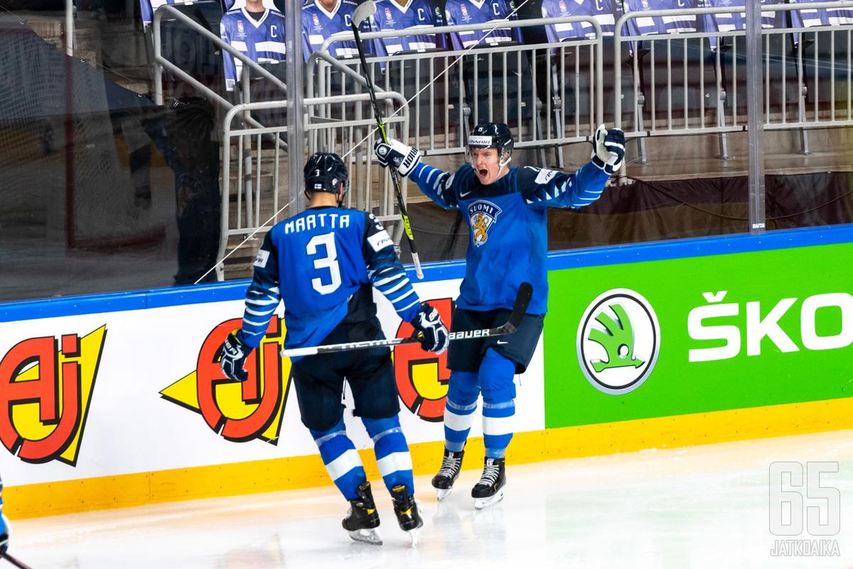 Määttä ja Lundell ovat Kanadan leirissä tuttuja pelaajia.