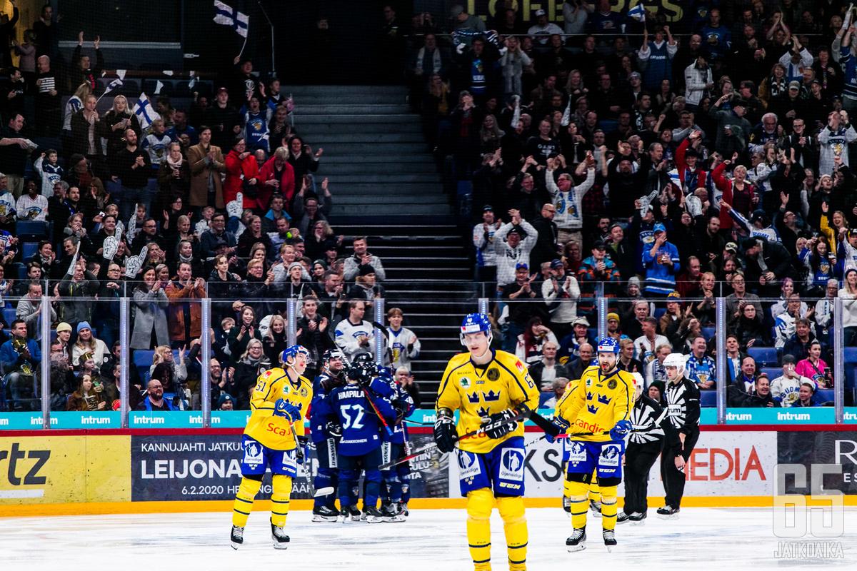 Helsingin EHT-turnauksen päättää legendaarinen klassikko-ottelu Suomen ja Ruotsin välillä.