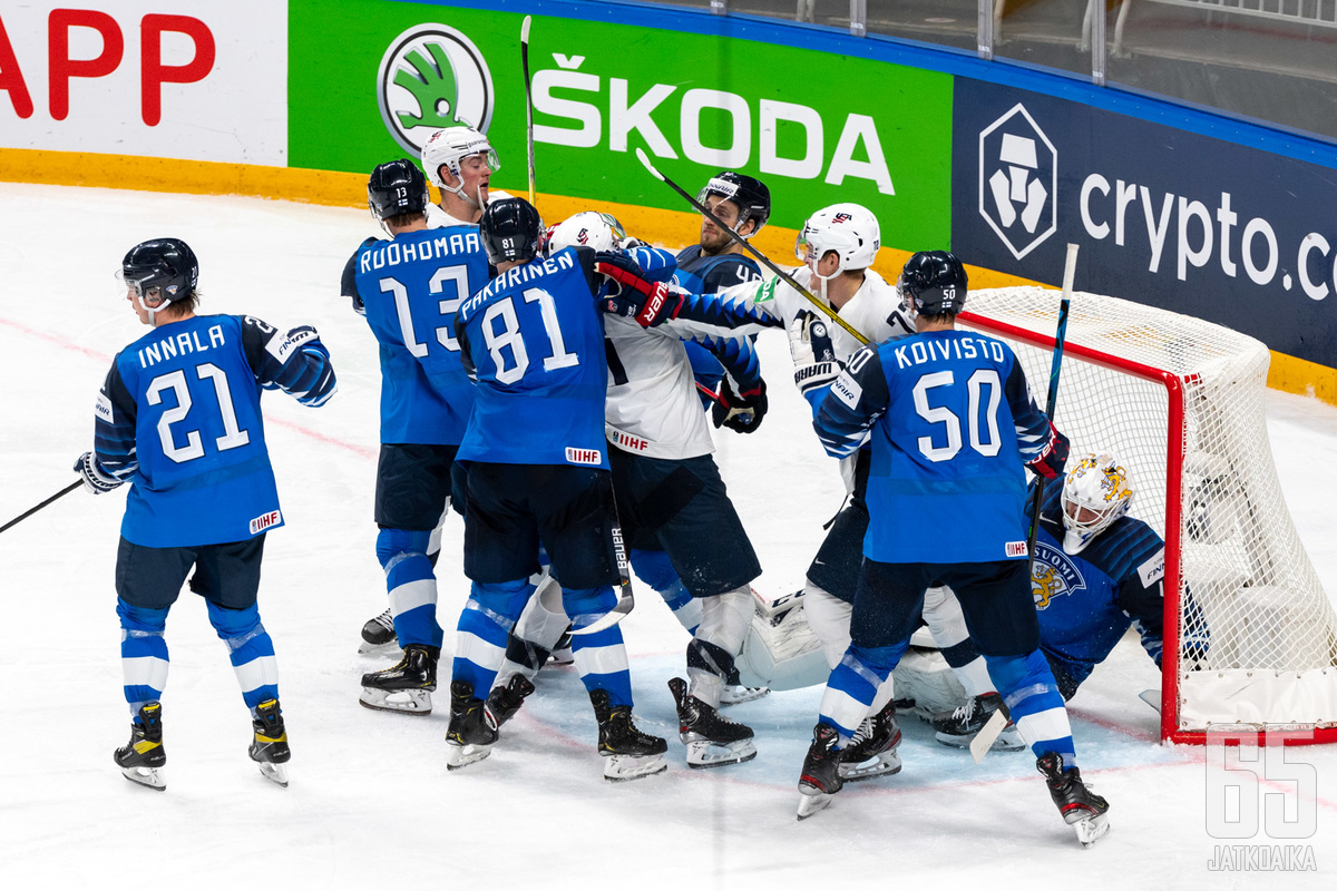 Suomi ja USA ovat vastakkain myös ensi vuoden alkulohkossa.