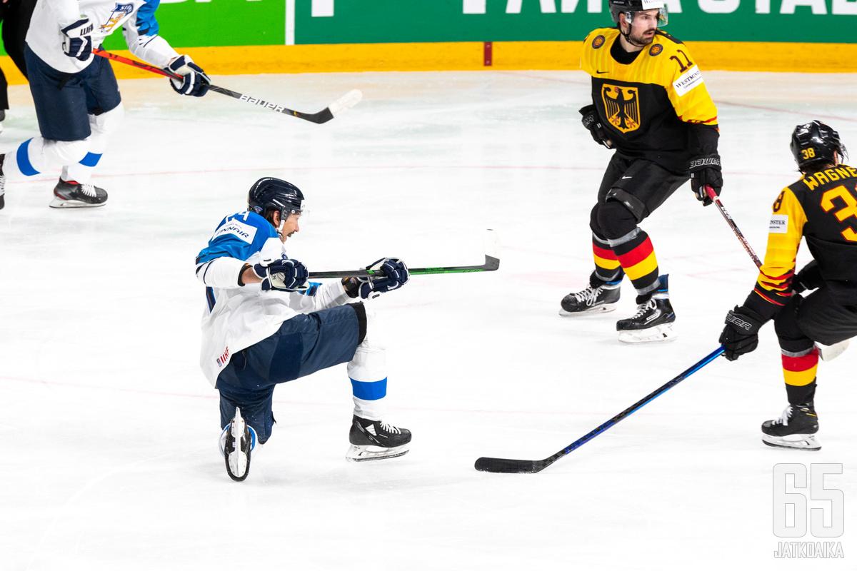 Suomi ja Saksa kohtasivat jo alkulohkossa.
