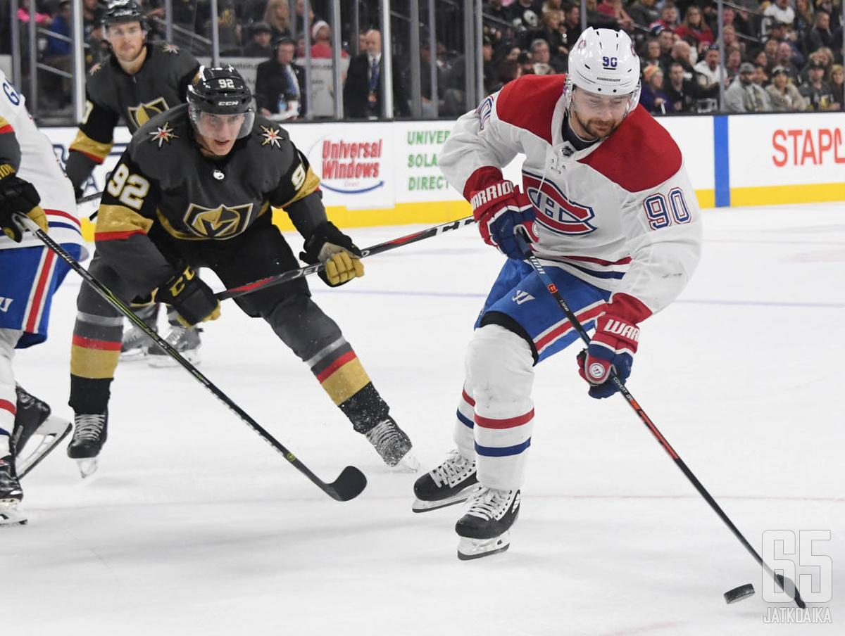 Golden Knights ja Canadiens kohtaavat toisensa normaalistikin vain harvoin.