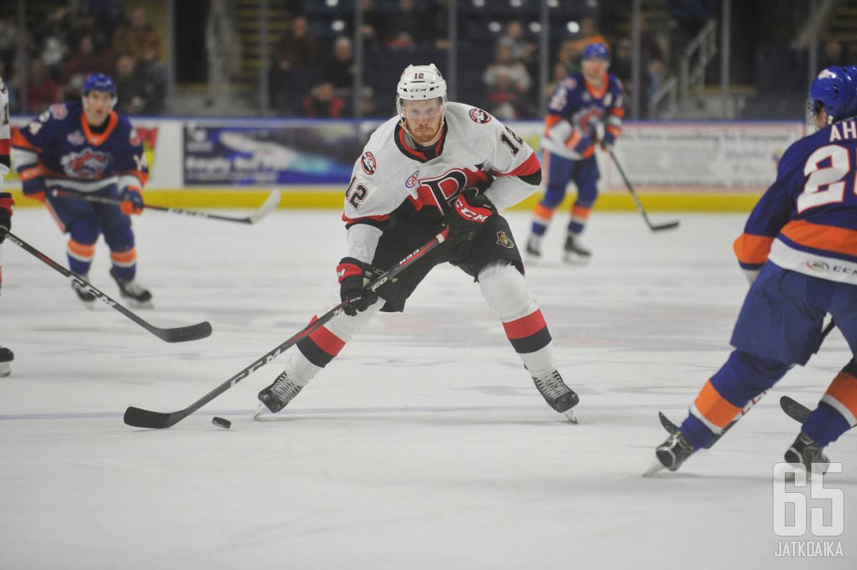 Rodewald teki tehokkaimmalla AHL-kaudellaan 47 tehopistettä.