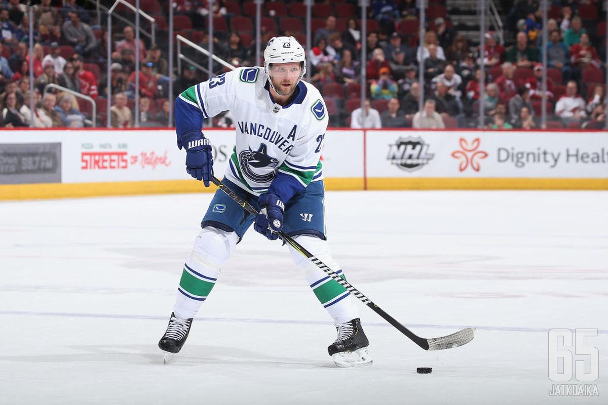 Alexander Edler on edustanut Canucksia koko NHL-uransa ajan.
