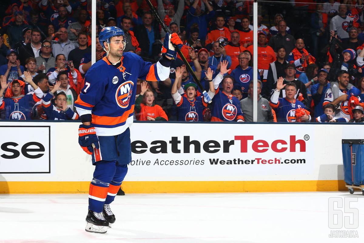 Eberle oli viime kauden runkosarjassa Islandersin viidenneksi tehokkain pelaaja.