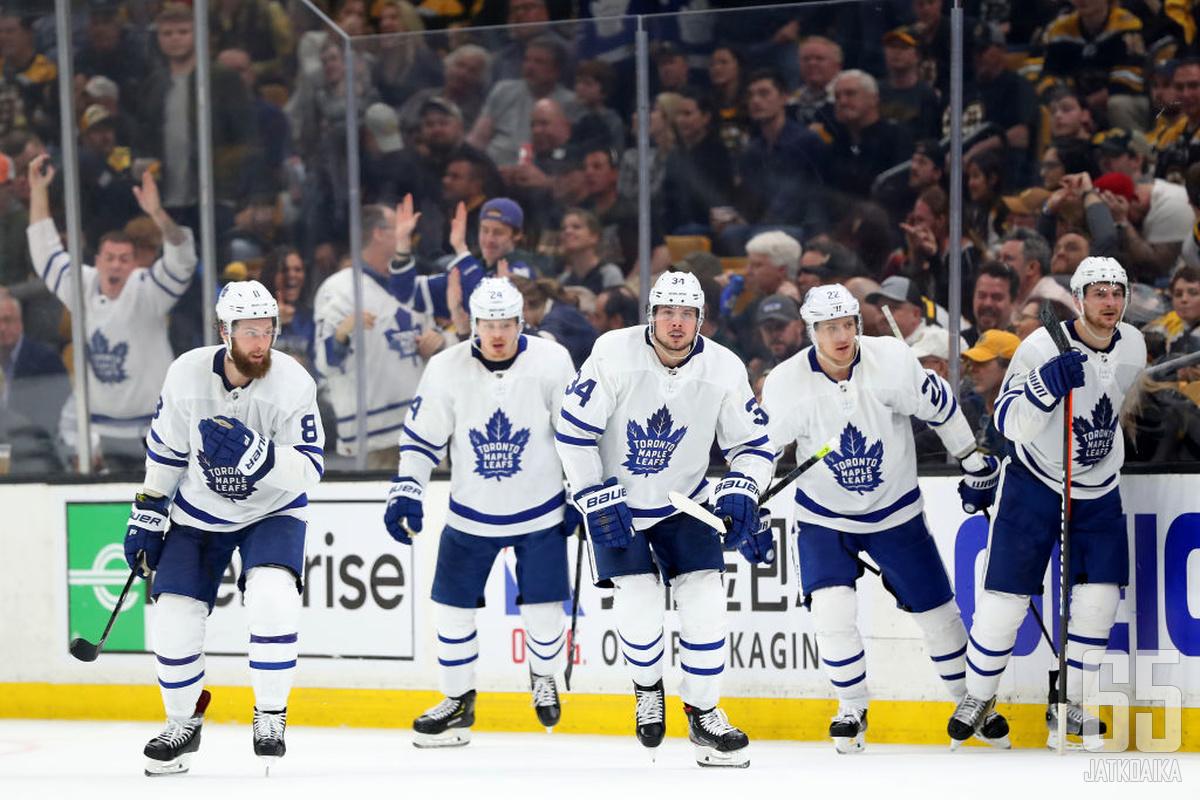 Maple Leafs -kokoonpanoon on luvassa ensi kesänä runsaasti muutoksia.