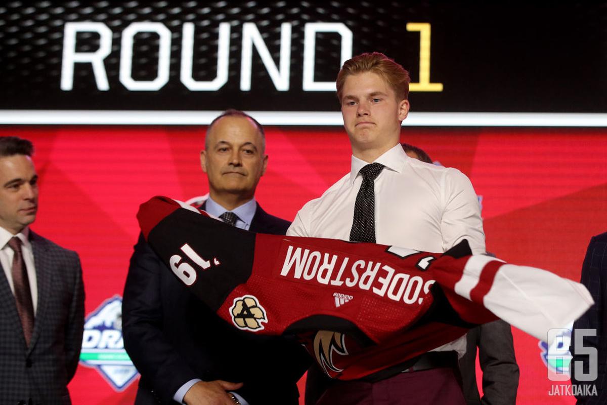 Viime vuonna Victor Söderströmin varannut Coyotes ei näillä näkymin pääse varaamaan ensimmäisellä kierroksella ensi vuonna.
