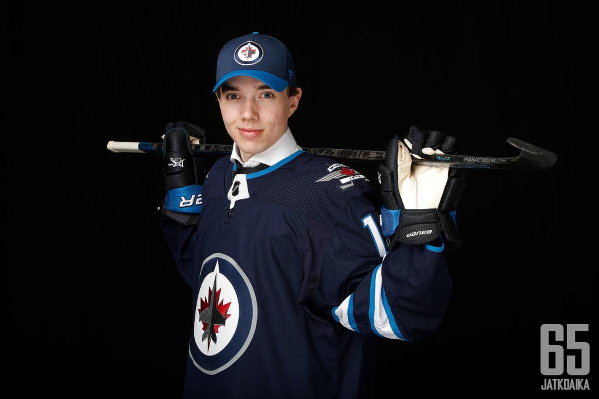 Ville Heinolaa odottaa tulevaisuus Winnipegissä.