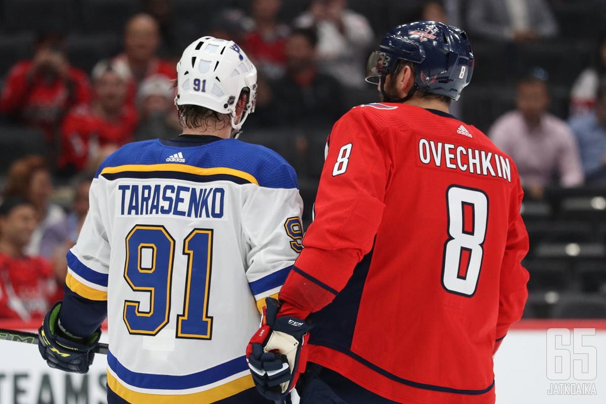 Ovetškin ei todennäköisesti lähde minnekään, mutta Tarasenko ei välttämättä jää St. Louis Bluesiin.