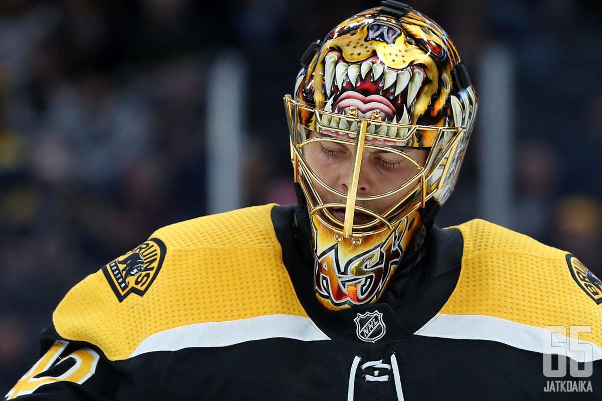 Rask on saavuttanut Bruinsissa paljon.