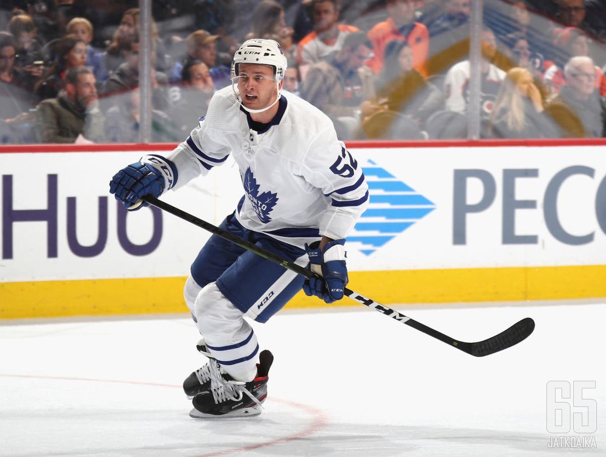 Martin Marincin jatkaa pelejään Toronto Maple Leafsin takalinjoilla myös ensi kaudella.
