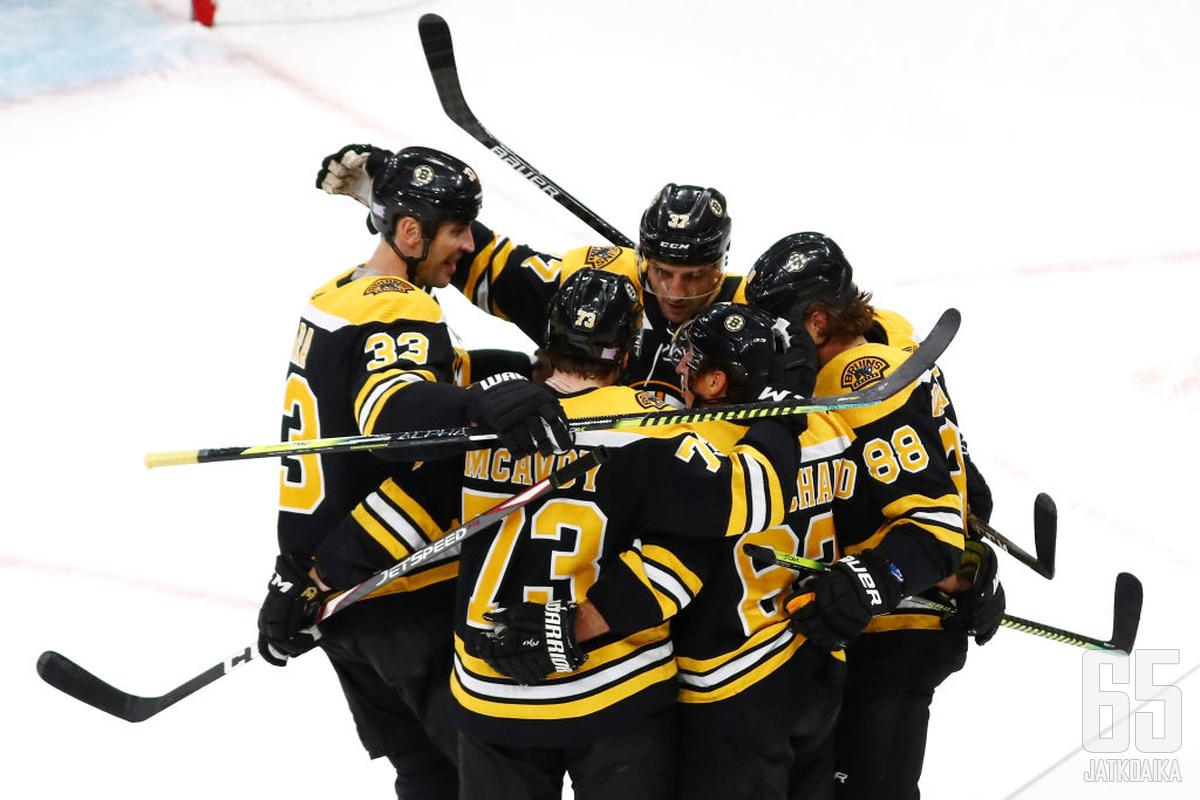 Boston Bruins on idän kirkkaimpia ennakkosuosikkeja.