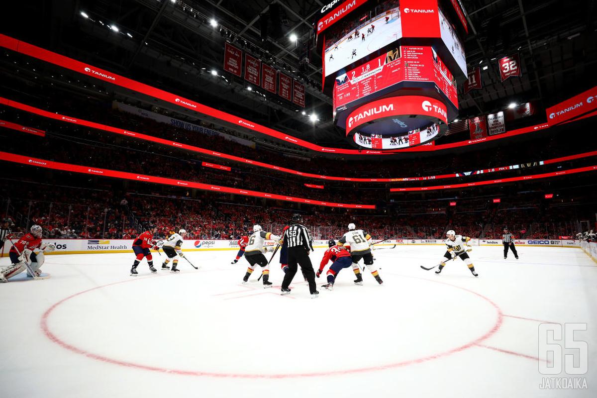 NHL-areenat avaavat vähitellen oviaan kannattajille.