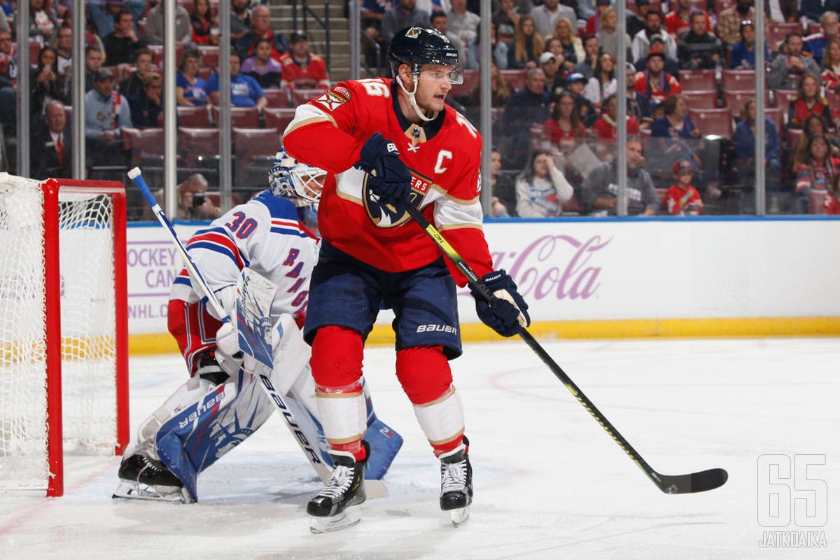 Panthers-kapteeni Aleksander Barkov halajaa menestystä, mutta tulevalla kaudella sitä ei ole luvassa.