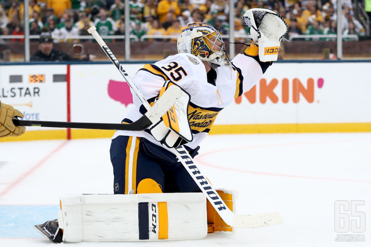 Pekka Rinne on kokeneimpia suomalaisia NHL-pelaajia.