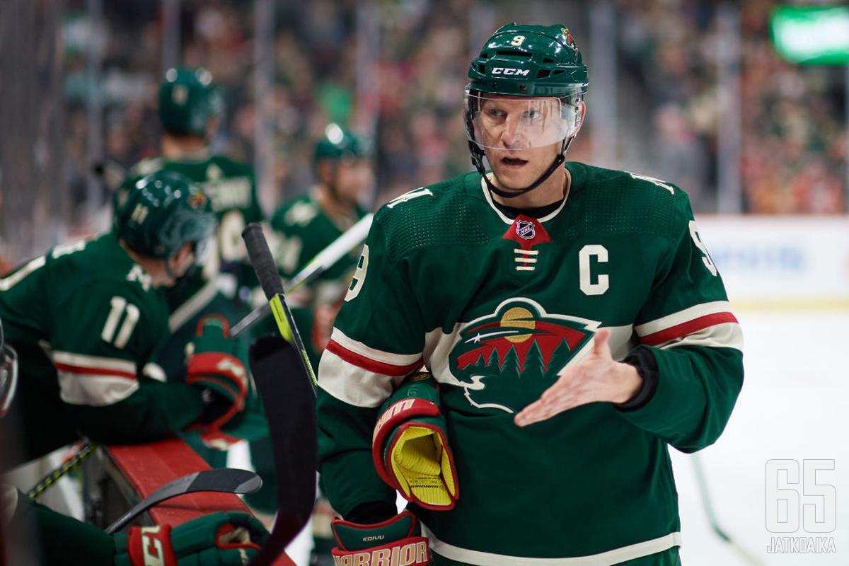 Mikko Koivulla on takanaan pitkä NHL-ura.