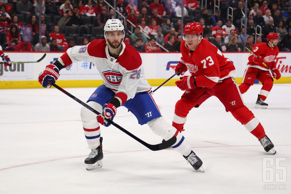Scandellan Canadiens-ura jäi lyhyeksi.