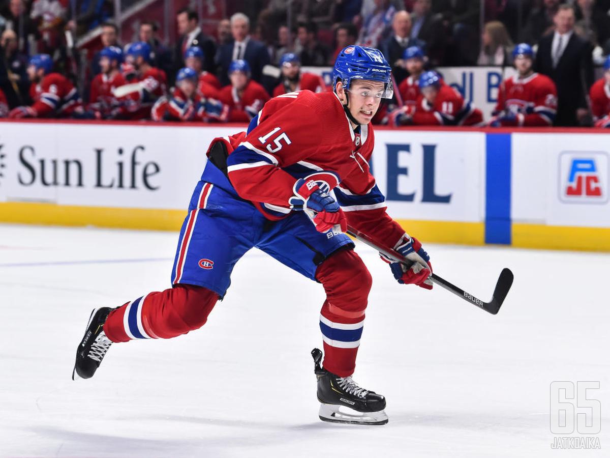 Jesperi Kotkaniemi pelasi kauden viimeiset pelinsä AHL:ssä.