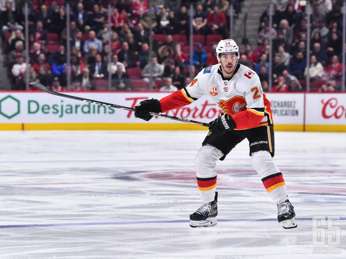 Travis Hamonic liittyy Vancouver Canucksin vahvuuteen.
