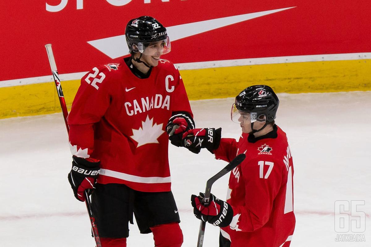 Kanadalaisten oli helpo hymyillä Venäjää vastaan.