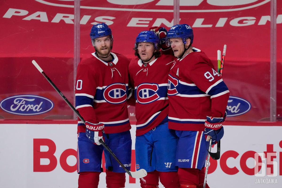 Perry kiekkoili viime kaudella Canadiensissa.
