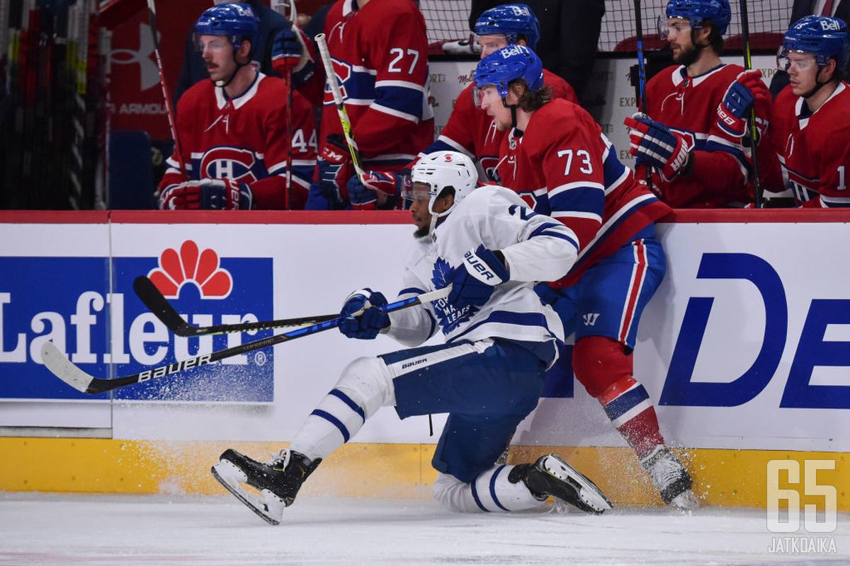 Maple Leafs ja Canadiens kohtaavat toisensa pudotuspeleissä ensimmäistä kertaa sitten kevään 1979.