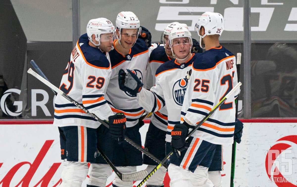 Edmonton Oilers on pelannut tasaisen varman runkosarjan ilman suurempia notkahduksia.