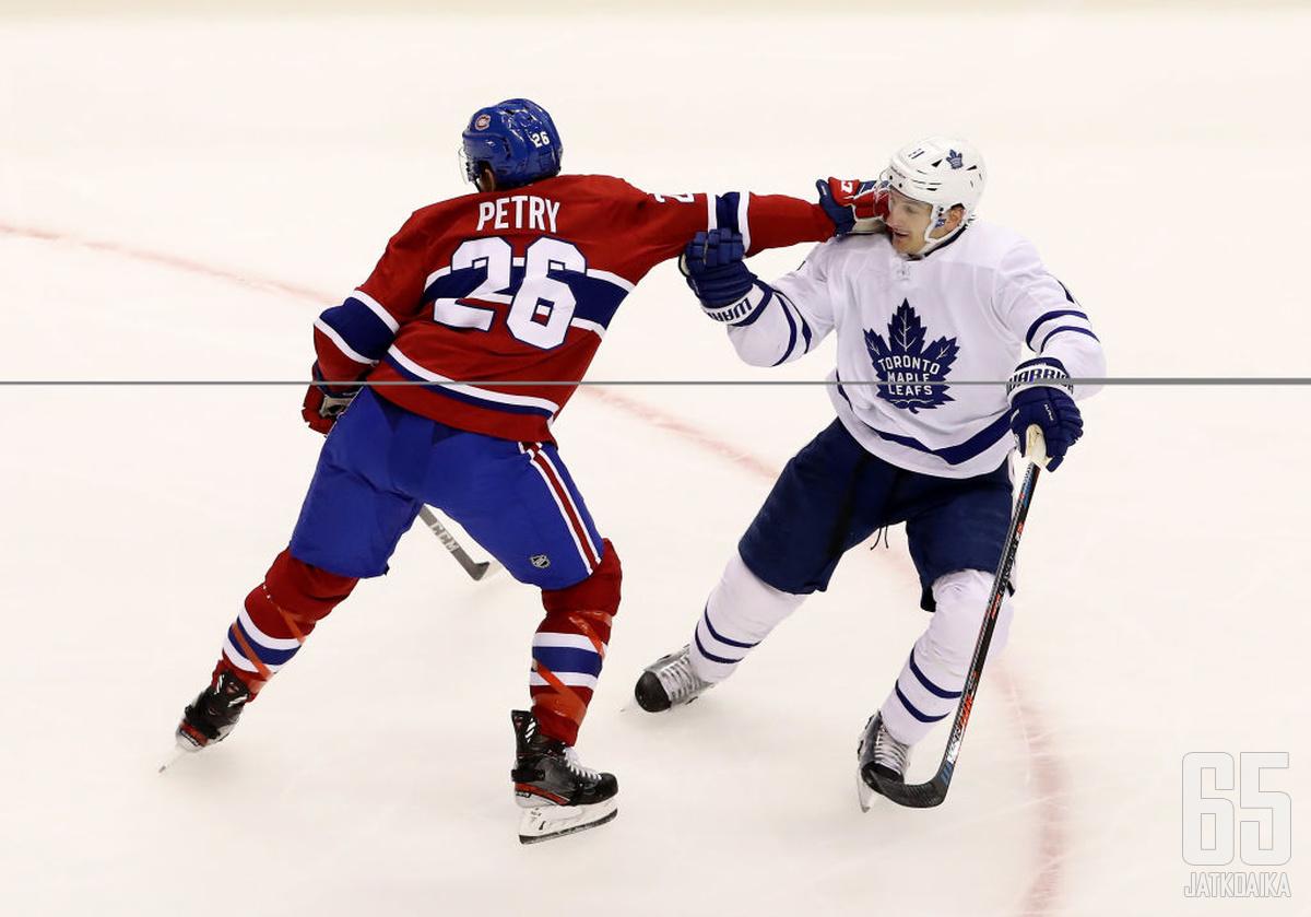 Muun muassa Montreal Canadiens ja Toronto Maple Leafs täydensivät alakertojaan siirtorajalla.