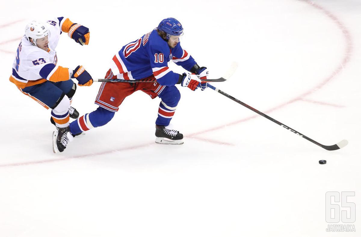Artemi Panarin oli ehdottomasti Rangersin paras pelaaja tällä kaudella.