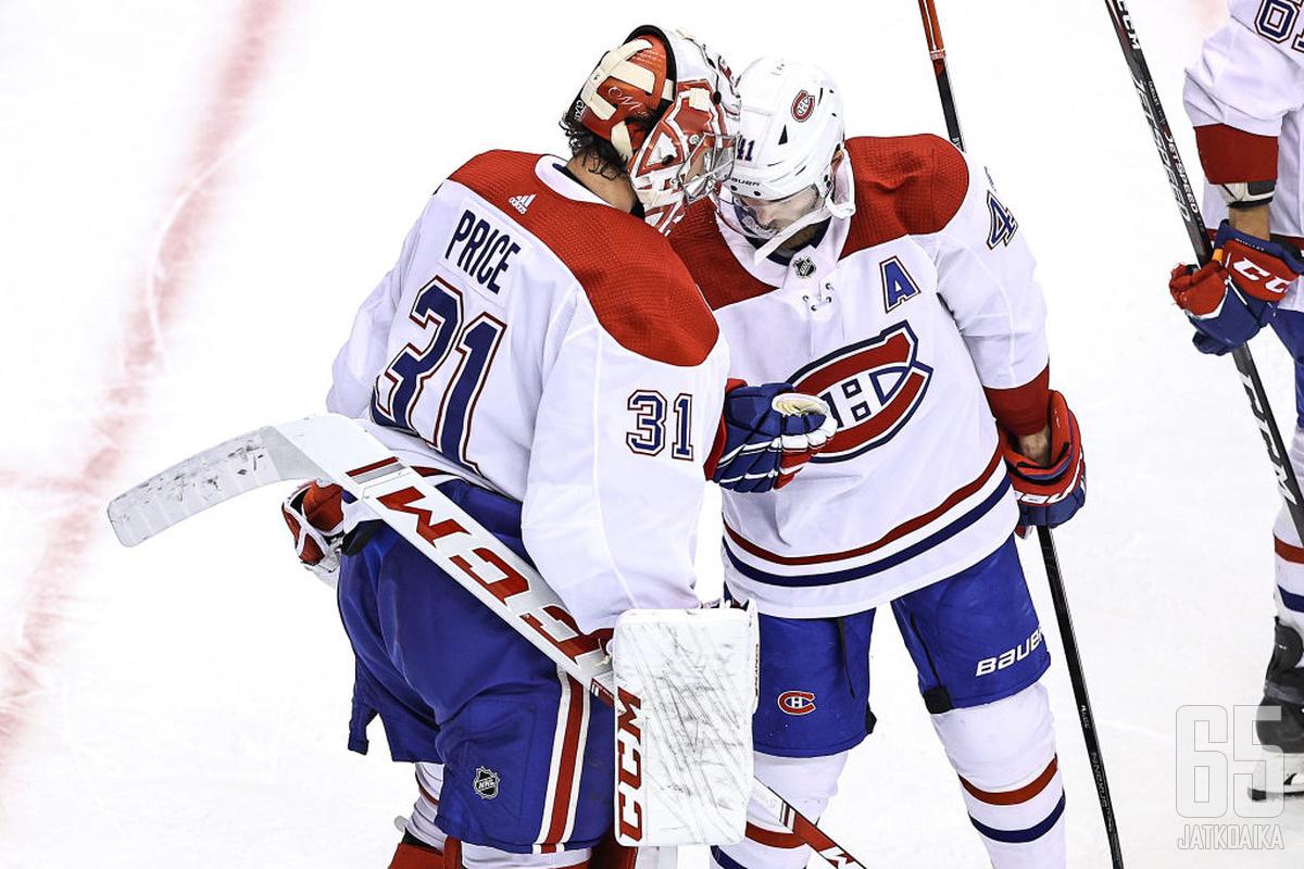 Carey Price oli vakuuttava Maple Leafs -sarjassa.