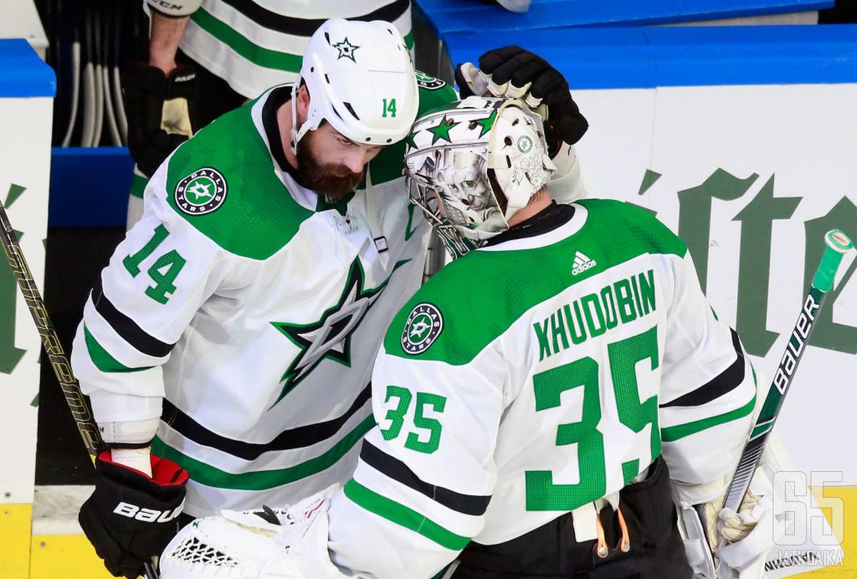 Stars jatkaa Stanley Cupin tavoittelua.