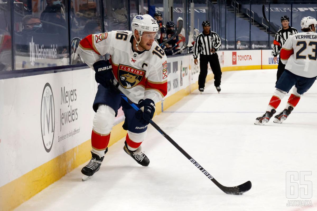 Aleksander Barkov on todennäköisesti Suomen ensi talven olympiajoukkueen suurin tähti.