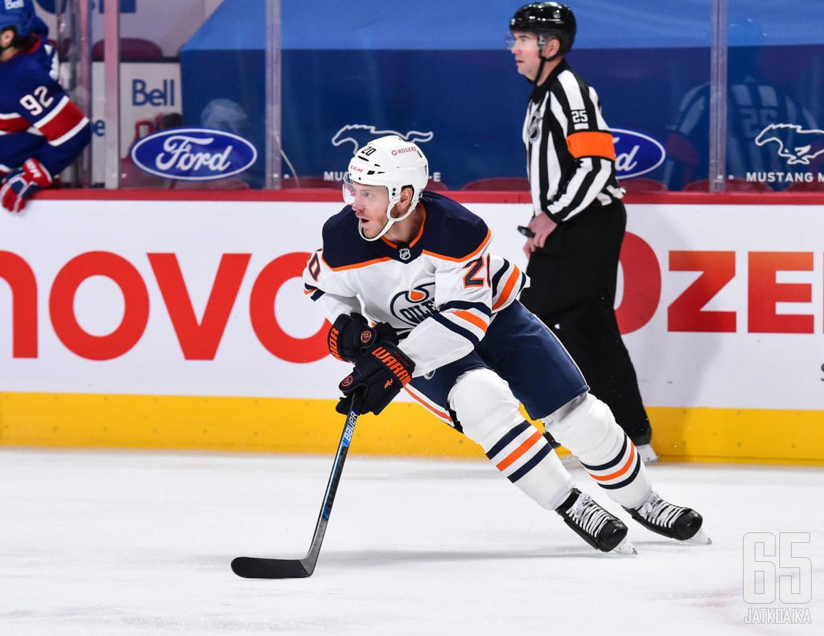 Koekkoek saapui Oilersiin viime kaudeksi.
