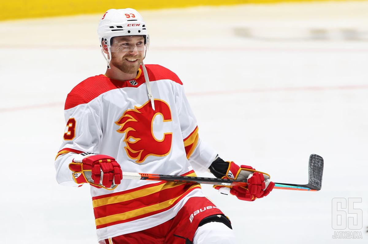 Sam Bennett pelaa nyt ensimmäistä kertaa NHL-urallaan muualla kuin Flamesissa.